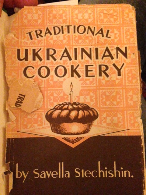 'Traditional Ukranian Cookery' cookbook