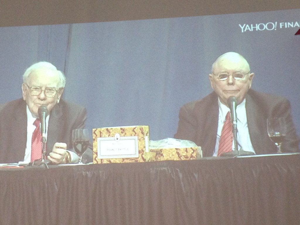 Warren Buffet and Charlie Munger, Berkshire Hathaway Q&A 2016