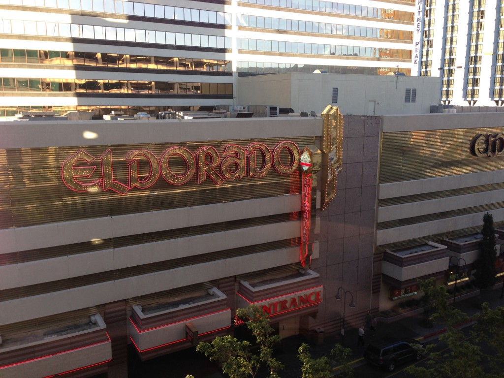 The Glitz of the Eldorado by day.