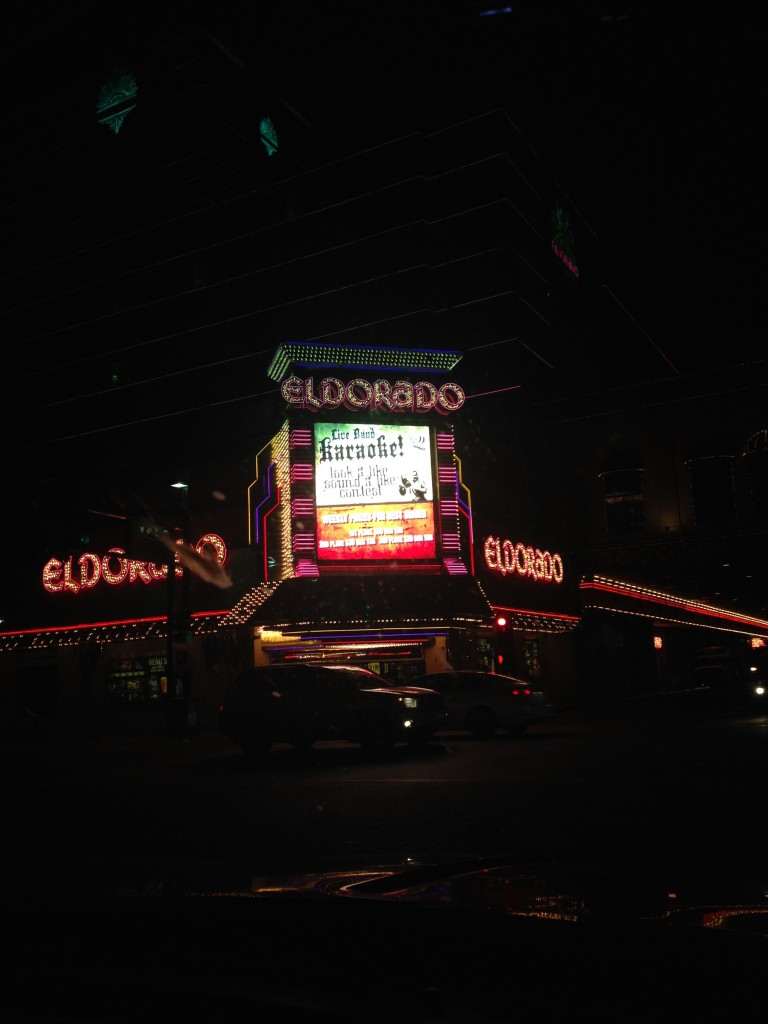 The Eldorado by Night.