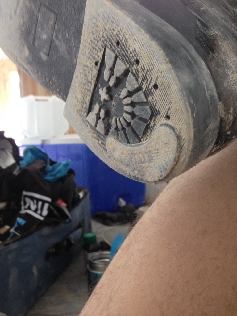 My boots, after 3 days on playa.