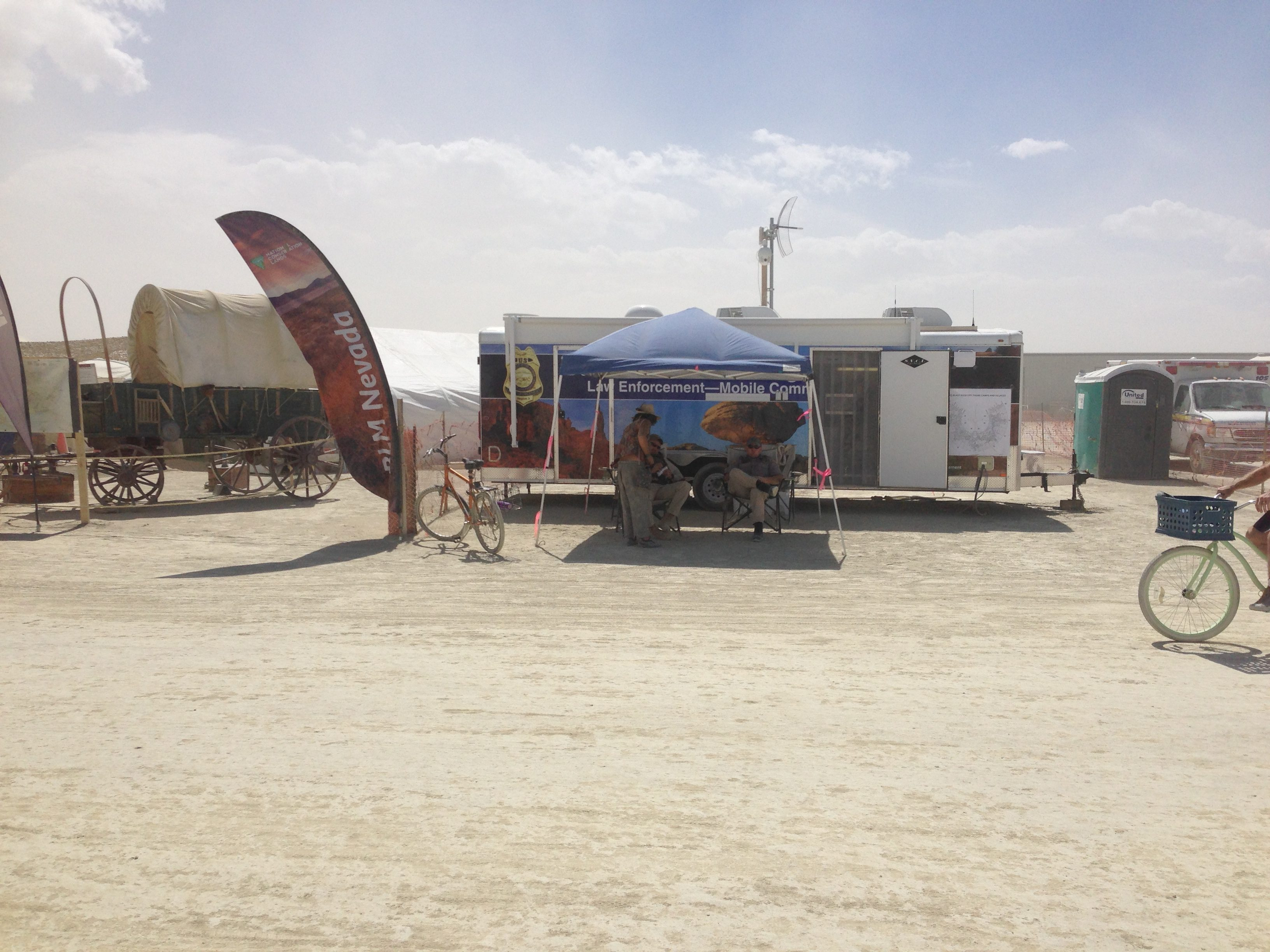 An indication of how safe Burning Man is.