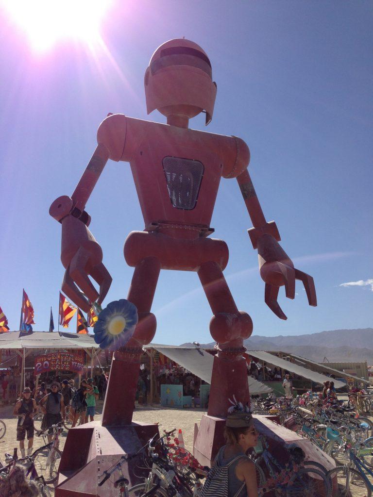"Seeing deep into the robot, he said ""seek the pincer""."