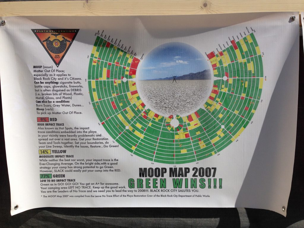 "Moop Map 2007 ""Green Wins!"": Note how one year of measuring and enforcement has made a noticeable difference."