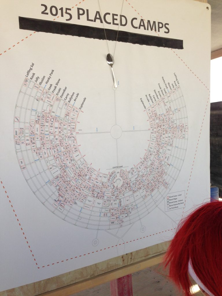 Map 2015: Who was where?