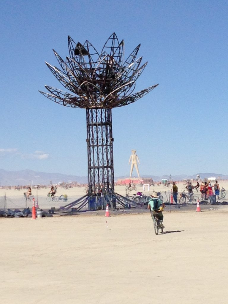 The burned-out husk of a fantastic installation.