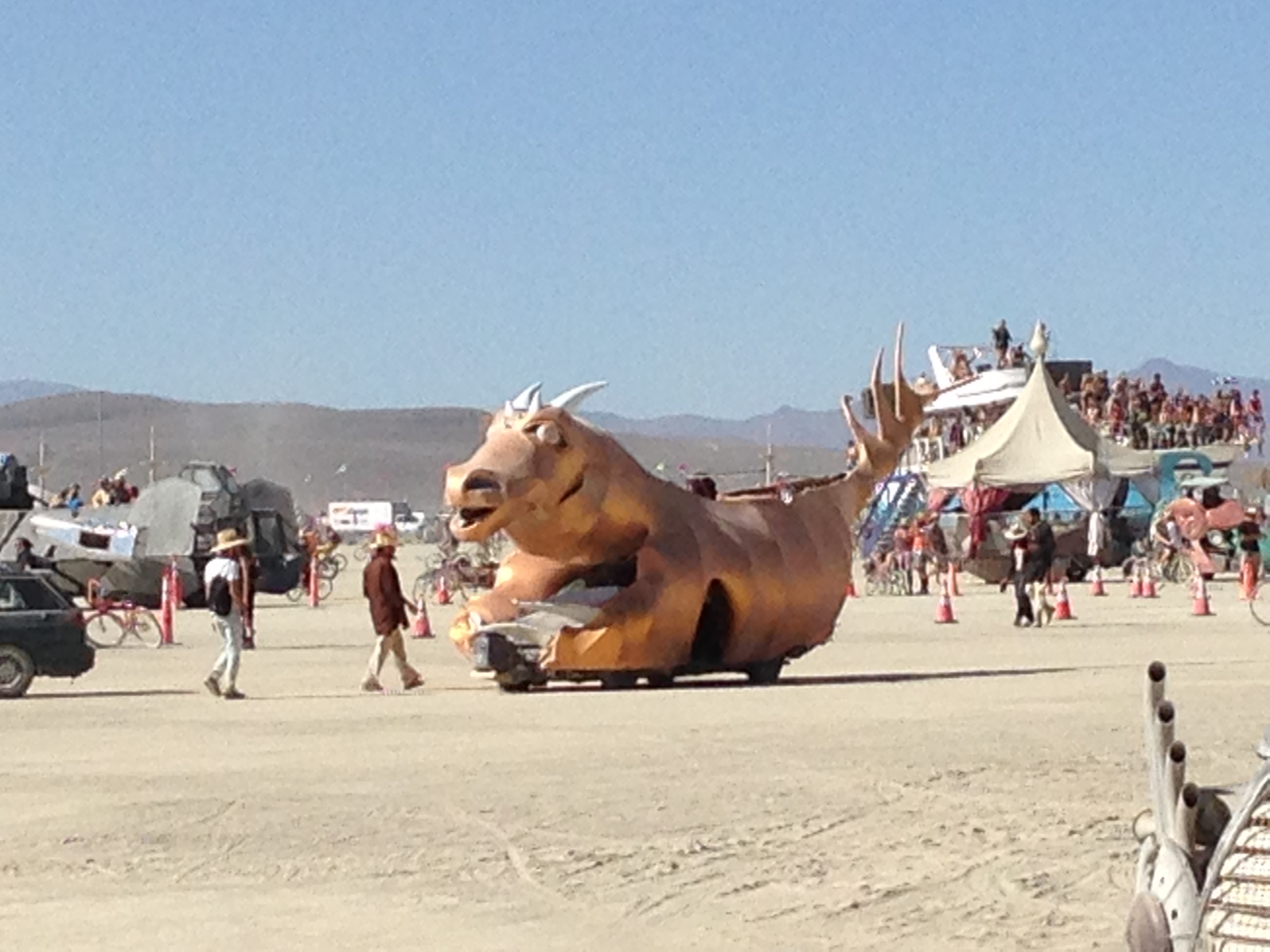 The Bronze Rhino Runs Again (now a major motion picture).